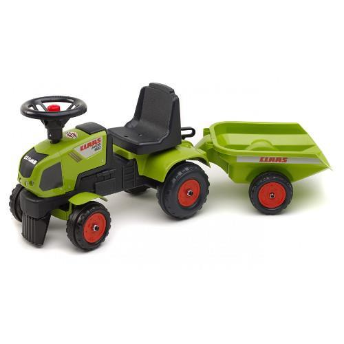Tractor Claas Axos cu Remorca