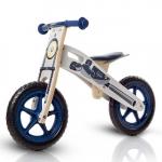 Bicicleta din lemn fara pedale Runner Moto Deluxe