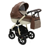 Carucior 3 in 1 Poema Brown