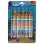 Creioane colorate 16 culori Finding Dory