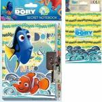 Jurnal cu creion si lacat 15X15CM Finding Dory