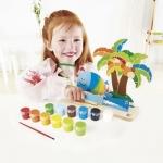 Insula tropicala - picteaza si joaca-te