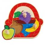 Puzzle Cosul cu fructe