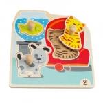 Puzzle cu animalele preferate
