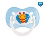 Suzeta silicon ortodontica Happy Garden 0-6 luni 22/559
