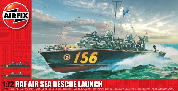 Airfix Air Sea Rescue Launch 172