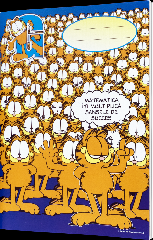 Caiet A4 Mate Garfield