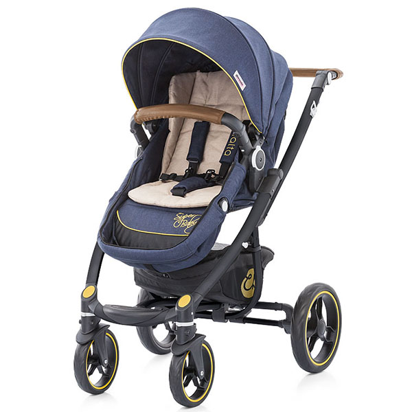 Carucior Chipolino Malta 2 in 1 denim  beige