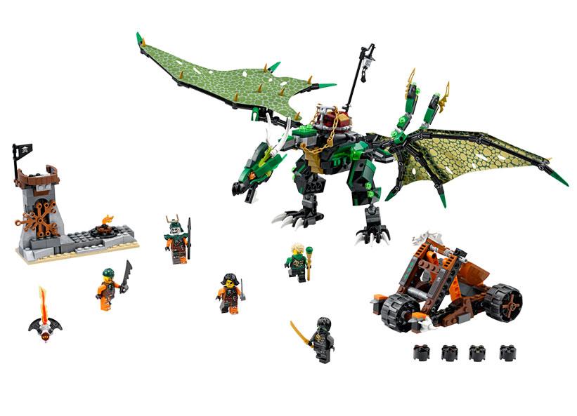 Dragonul verde NRG (70593)