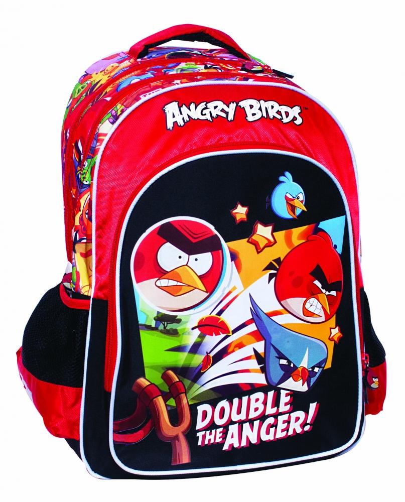 Ghiozdan scoala Angry Birds