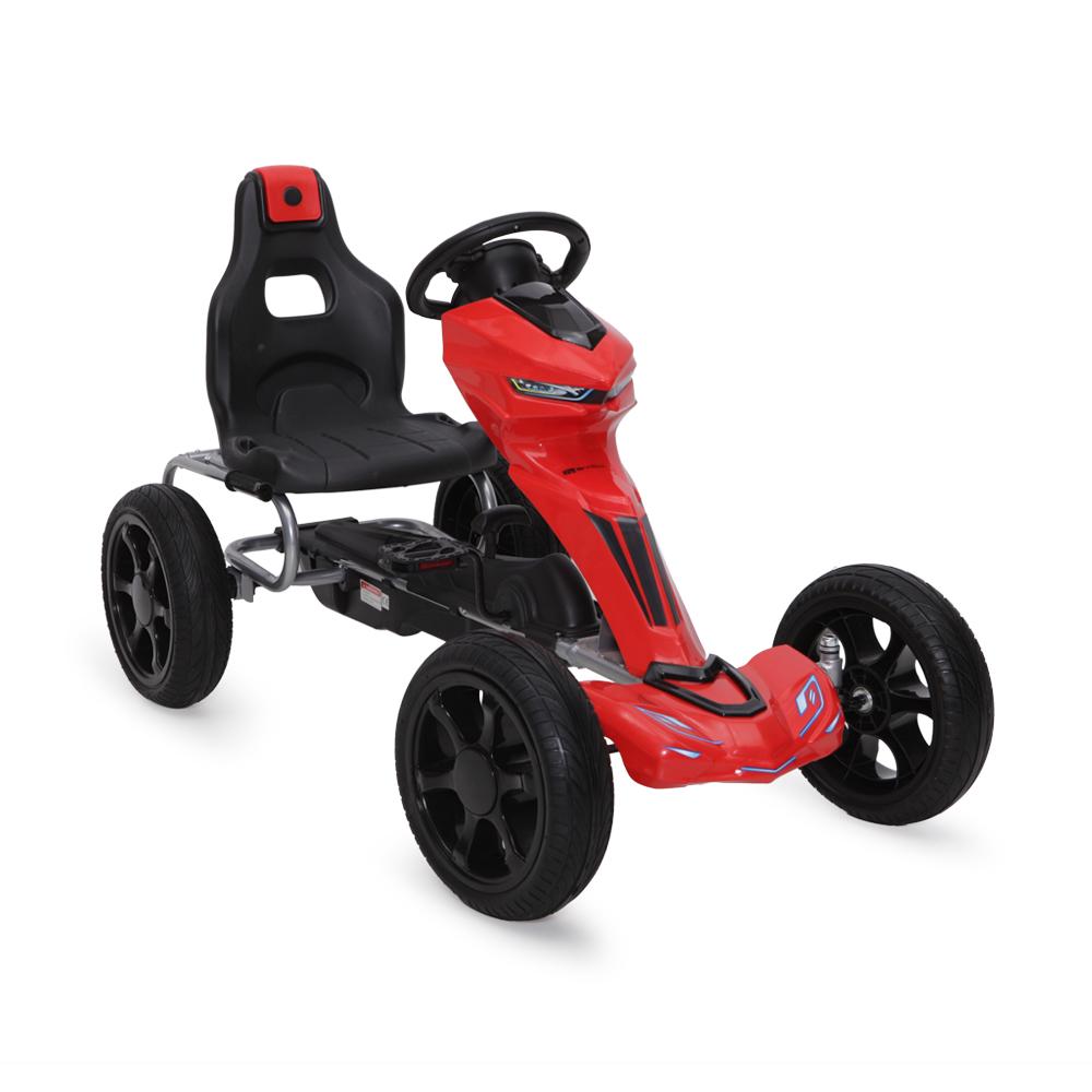 Kart cu pedale pentru copii Go Kart 1502 Rosu