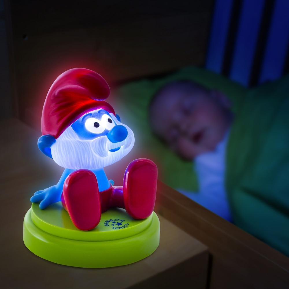 Lampa de noapte Papa Strumf Ansmann