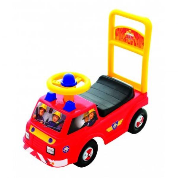 Masinuta pentru copii de impins Masinuta Pompierului Sam Jupiter