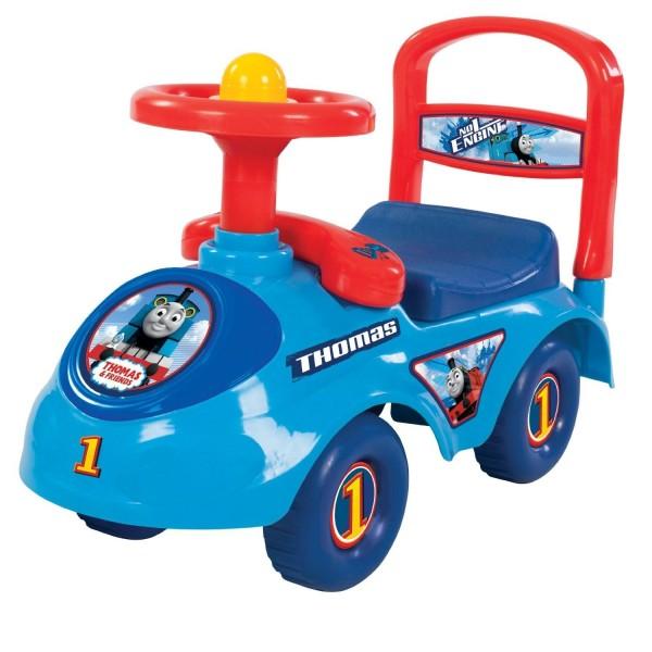 Masinuta pentru copii de impins ThomasFriends cu spatiu depozitare