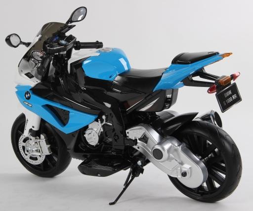 Motocicleta electrica BMW S1000RR 12V Albastra - 1