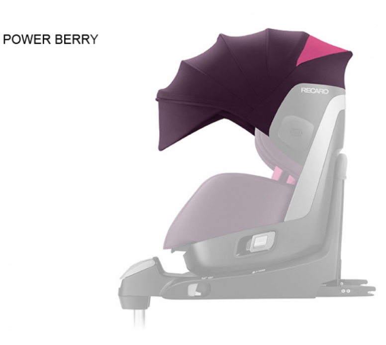 Parasolar Scaun Auto Zero.1 Power Berry