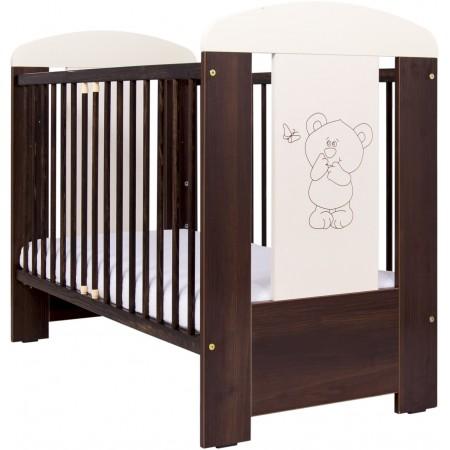 Patut bebelusi 120 x 60 cm Bear brown