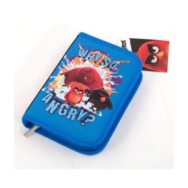 Penar Neechipat 1 ferm. 2 ext. Angry Birds Negru cu Albastru Pigna