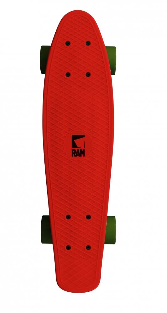 Penny Board Cruiser Rosu