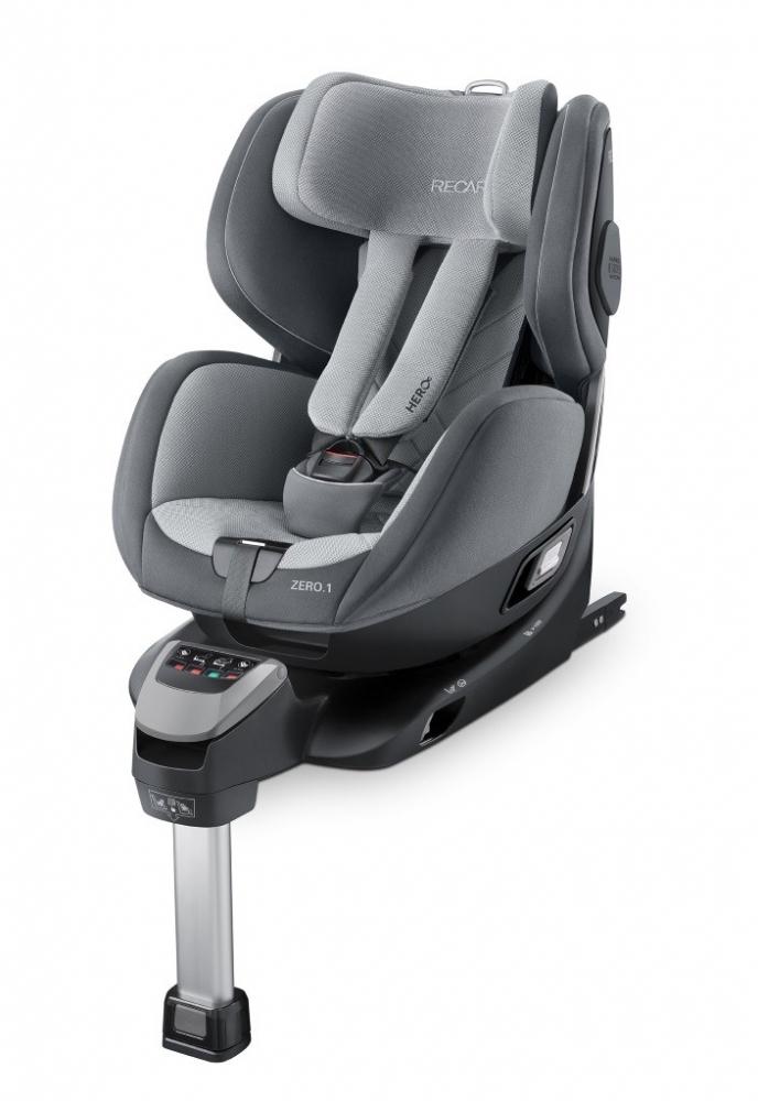 Scaun Auto Pentru Copii Zero.1 R129 Aluminium Grey