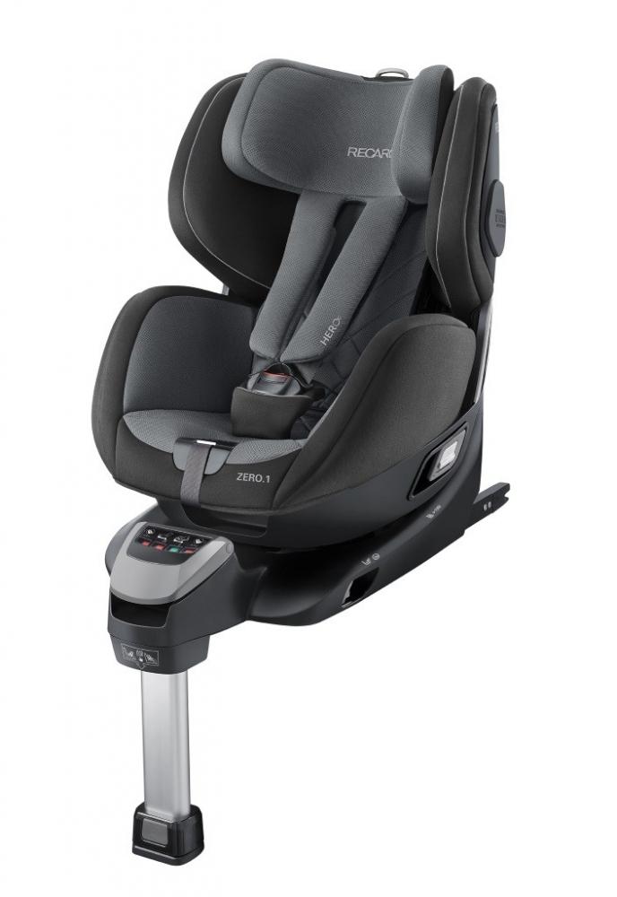 Scaun Auto pentru Copii Zero.1 R129 Carbon Black