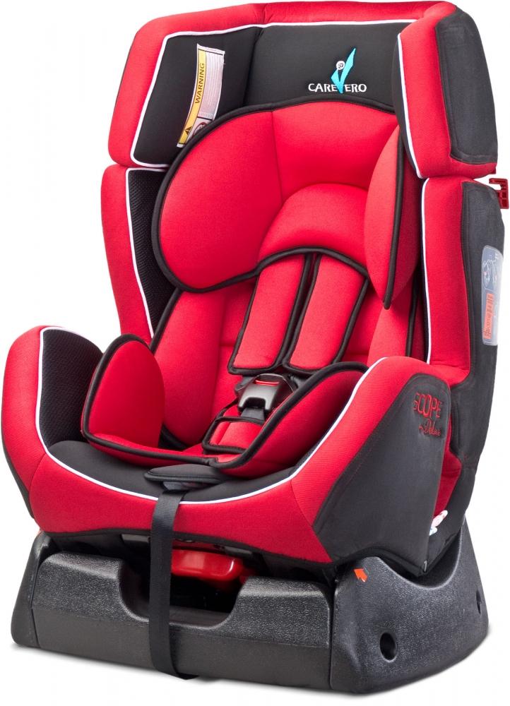 Scaun auto Caretero Scope Deluxe 0-25 Kg Red