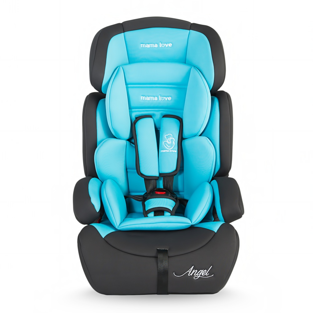 Scaun auto MamaLove Angel grupa 9-36 kg Albastru imagine