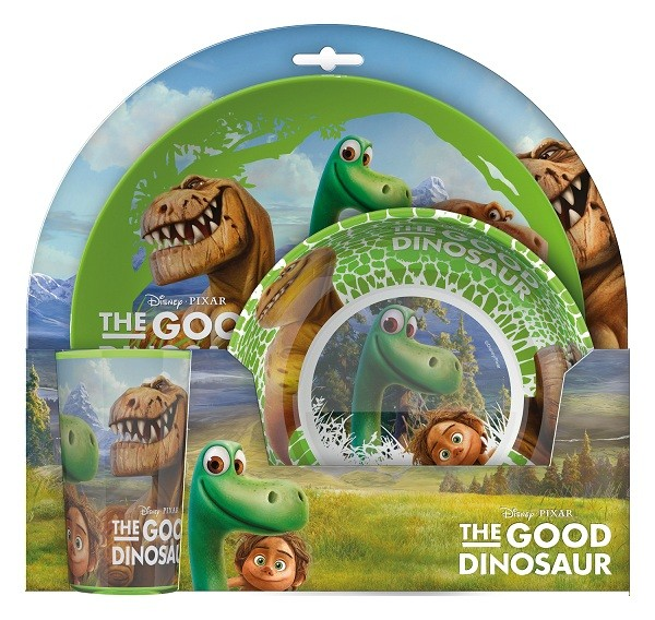 Set 2 Farfurii Si Pahar Pentru Copii Bbs The Good Dinosaur