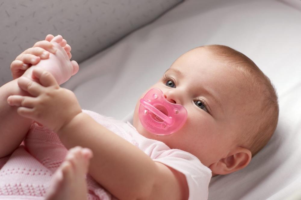Suzeta Chicco silicon Physio Soft forma ortodontica 12luni+ roz