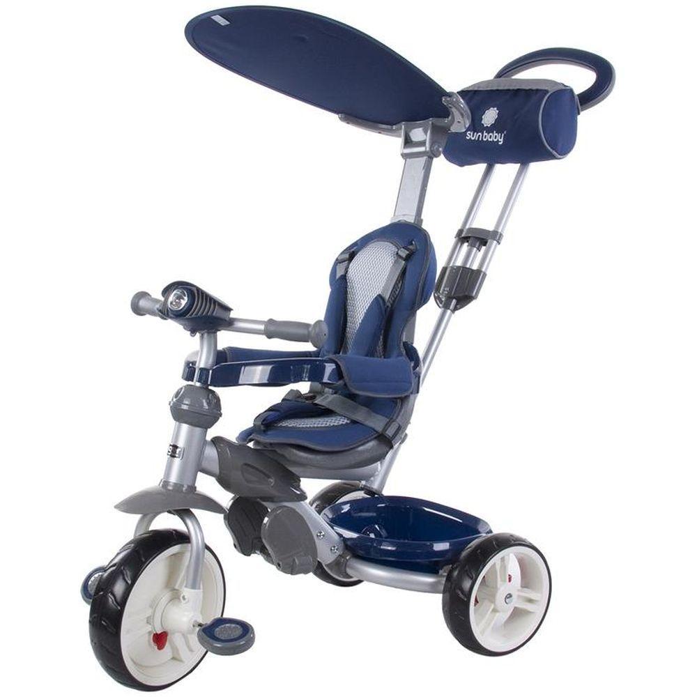 Tricicleta Little Tiger Z100 - Sun Baby - Albastru