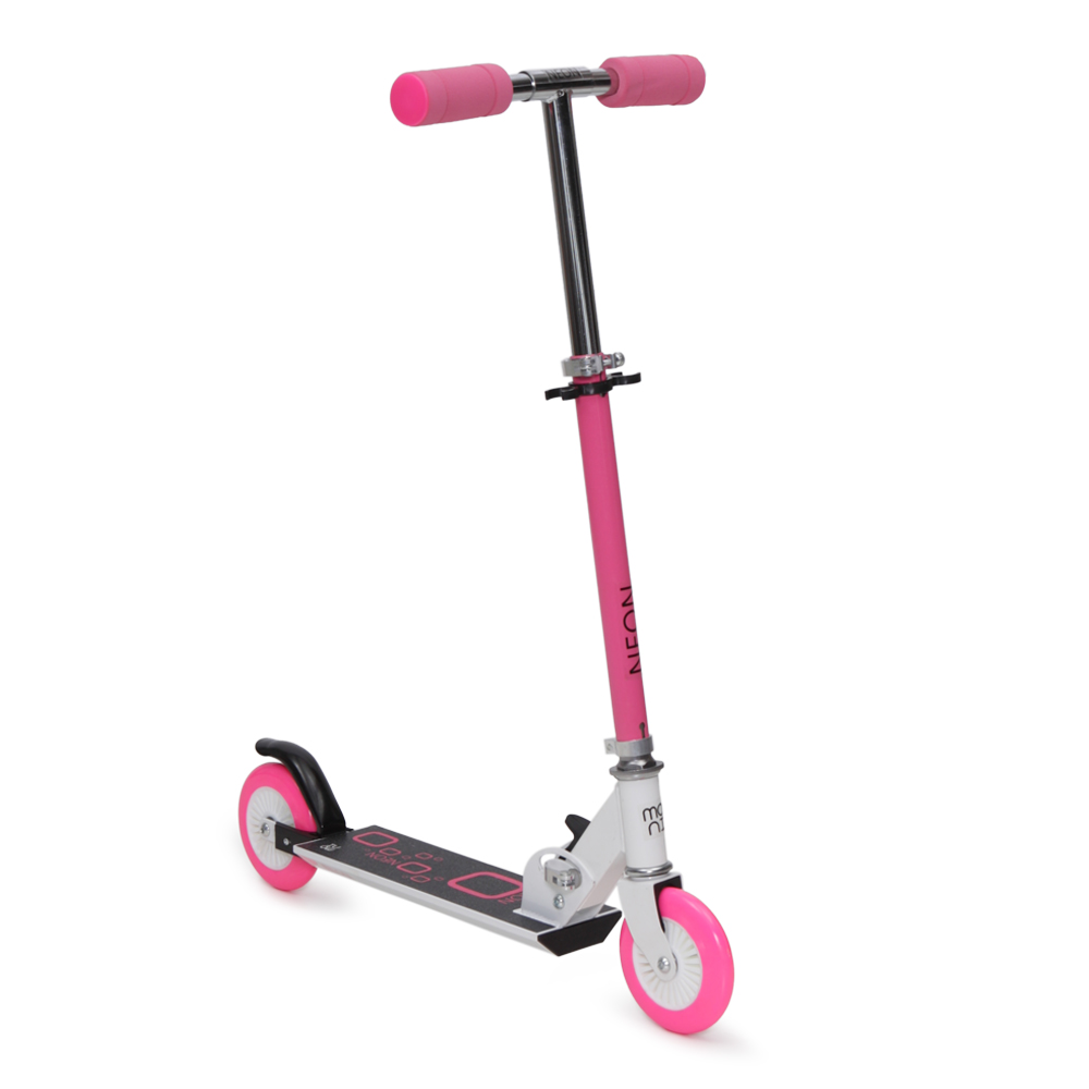 Trotineta Pliabila Neon Pink
