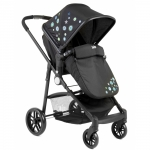 Carucior 2 in 1 Juju Happy In The Park Negru