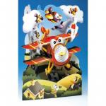 Felicitare 3D Avion-Swing Cards