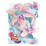 Felicitare 3D Crini-Swing Cards