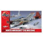 Kit aeromodele Airfix 01004 Avion North American P-51D Mustang Scara 1:72