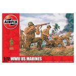 Kit soldati Airfix 01716 Set 45 soldati WWII Marina Americana scara 1:72