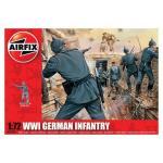 Kit soldati Airfix 01726 Set 48 soldati WWI Infanterie Germana scara 1:72