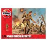 Kit soldati Airfix 01727 Set 48 soldati WWI Infanterie Britanica scara 1:72