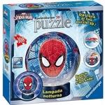 Puzzle 3D luminos Spiderman 108 Piese