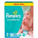 Scutece Pampers Active Baby 3 Midi Mega Box 150 buc