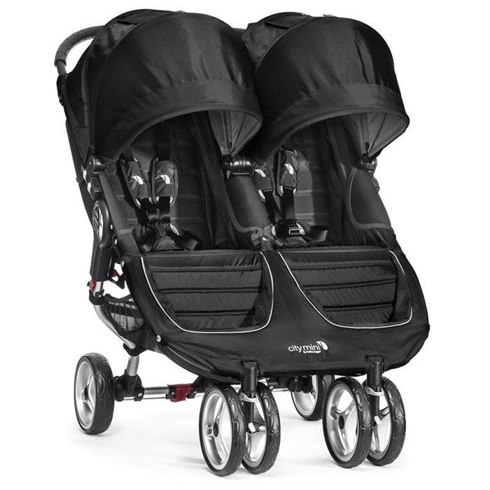 City Baby Jogger Mini Double Black