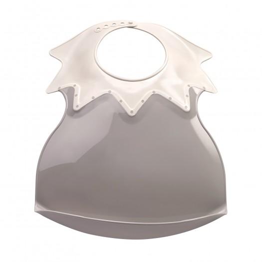 Baveta Bebe Ultra-soft Arlequin Thermobaby-gri