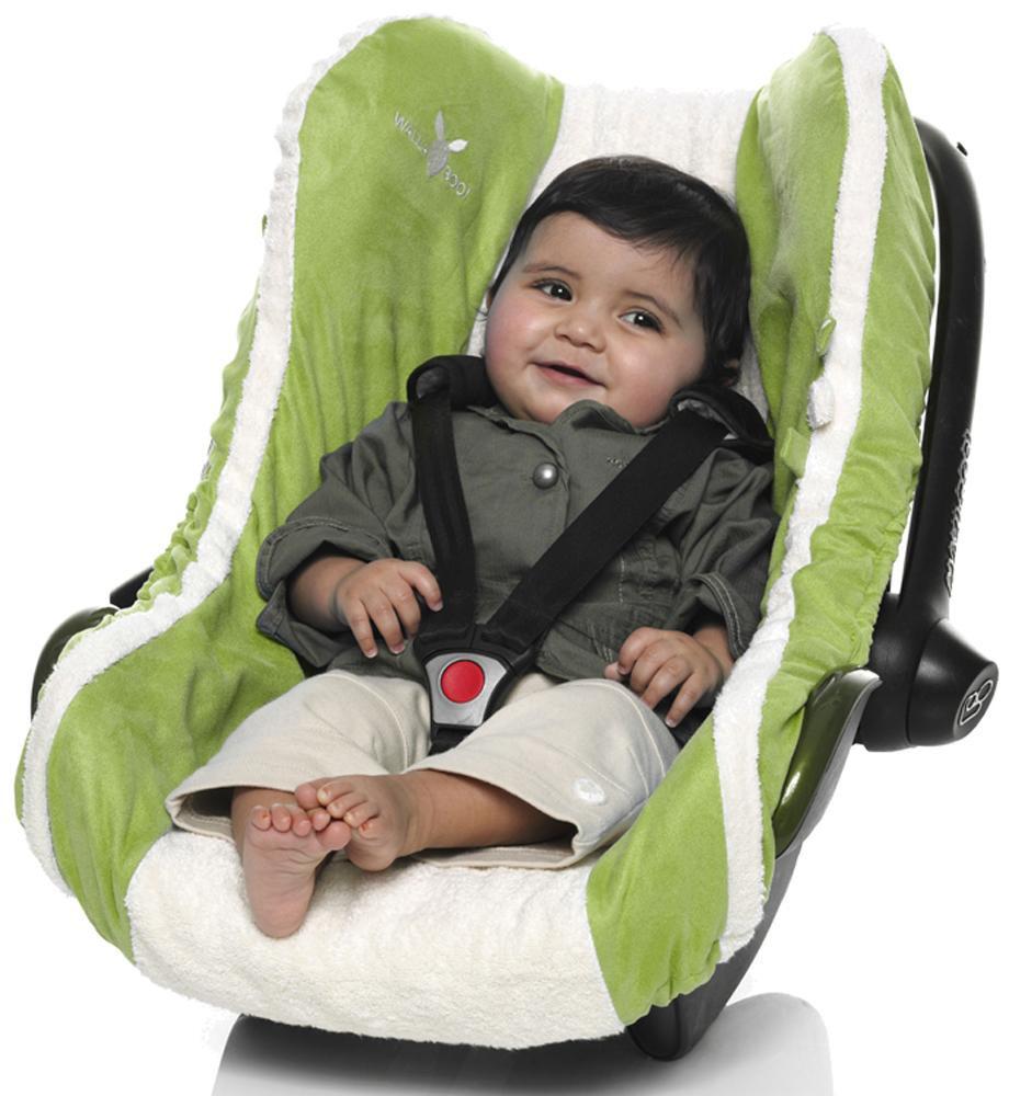Husa scaun auto Grupa 0 Wallaboo Green