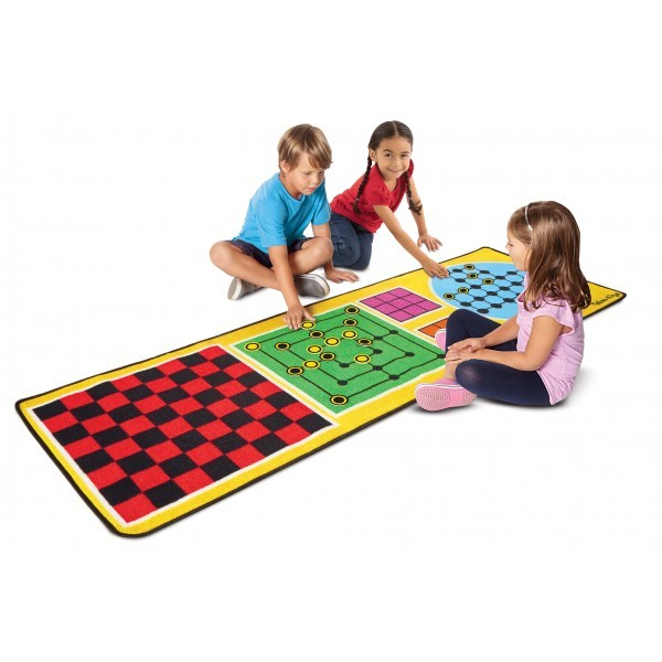 Joc covoras 4 in 1 Melissa and Doug imagine
