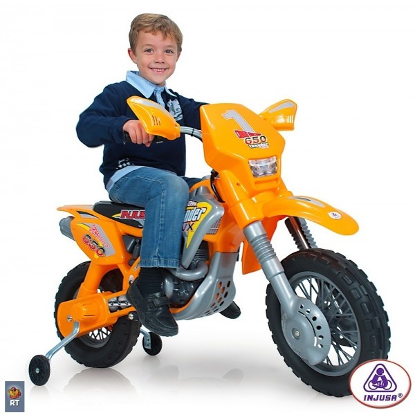 Motocicleta electrica Thunder Max VX 12V Injusa