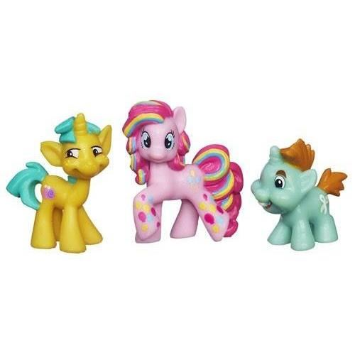 My Little Pony - set 3 figurine- Pinkie Pie, Snipsy Snap si Snailsqurim