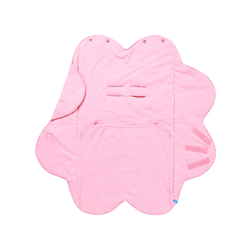Paturica Floare Soft Pink Wallaboo