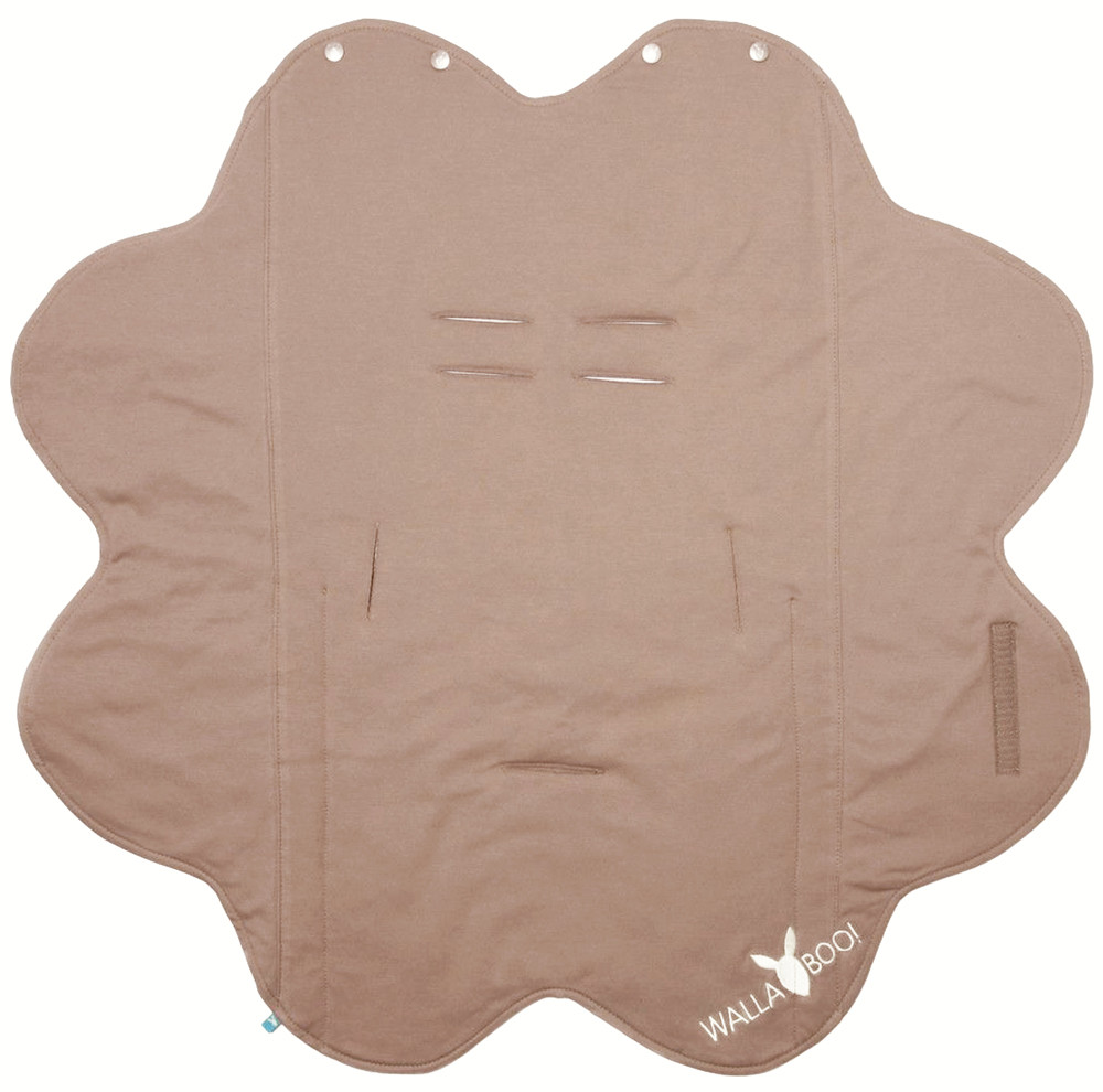Paturica Floare Soft Taupe Wallaboo