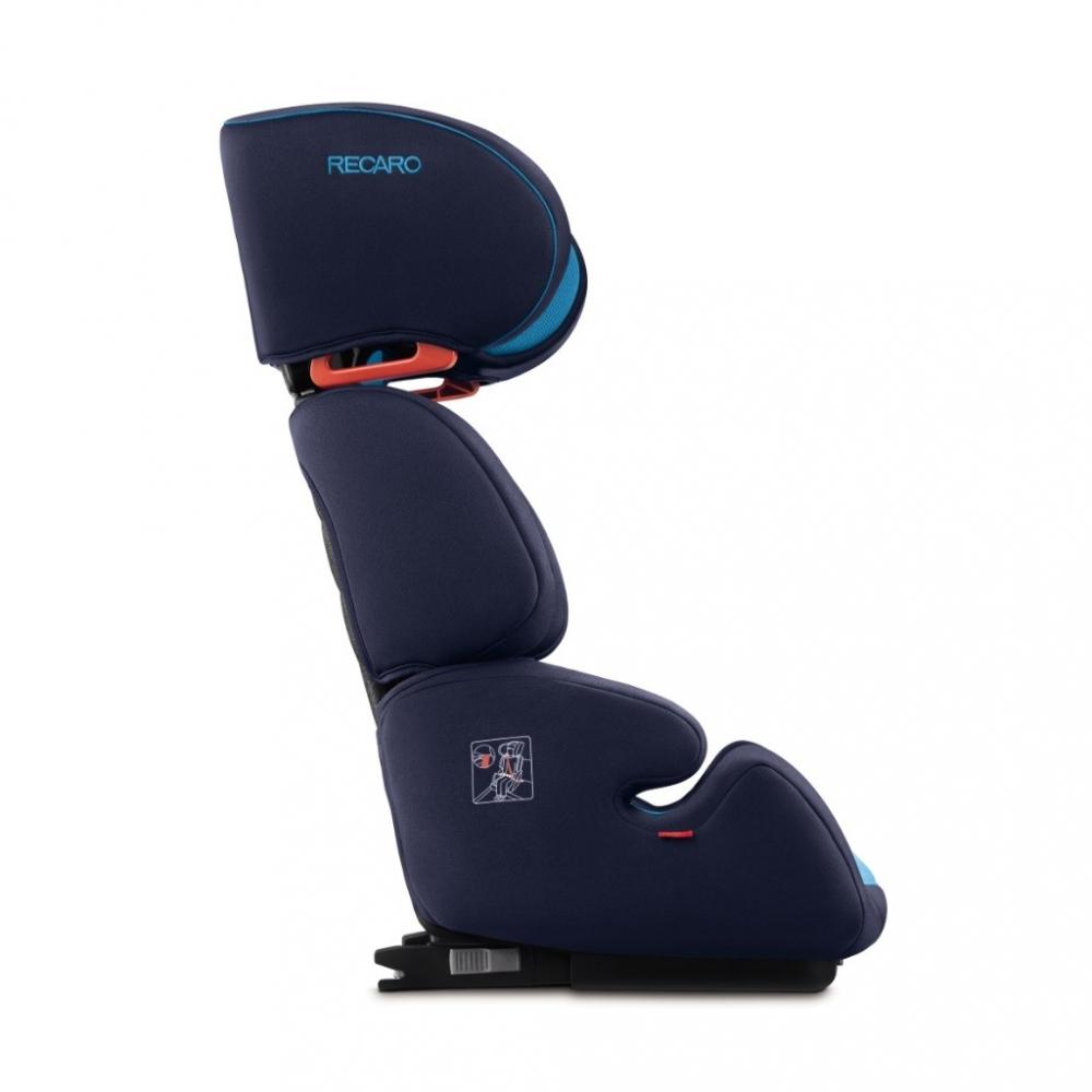 Scaun Auto pentru Copii cu Isofix Milano Carbon Black