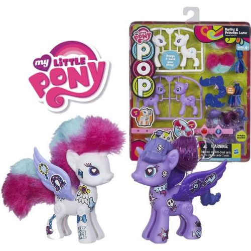 Set POP My Little Pony Rarity si Printesa Luna